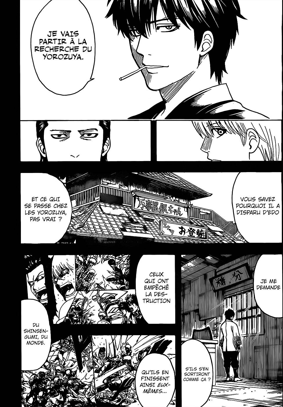 Lecture en ligne Gintama 692 page 15