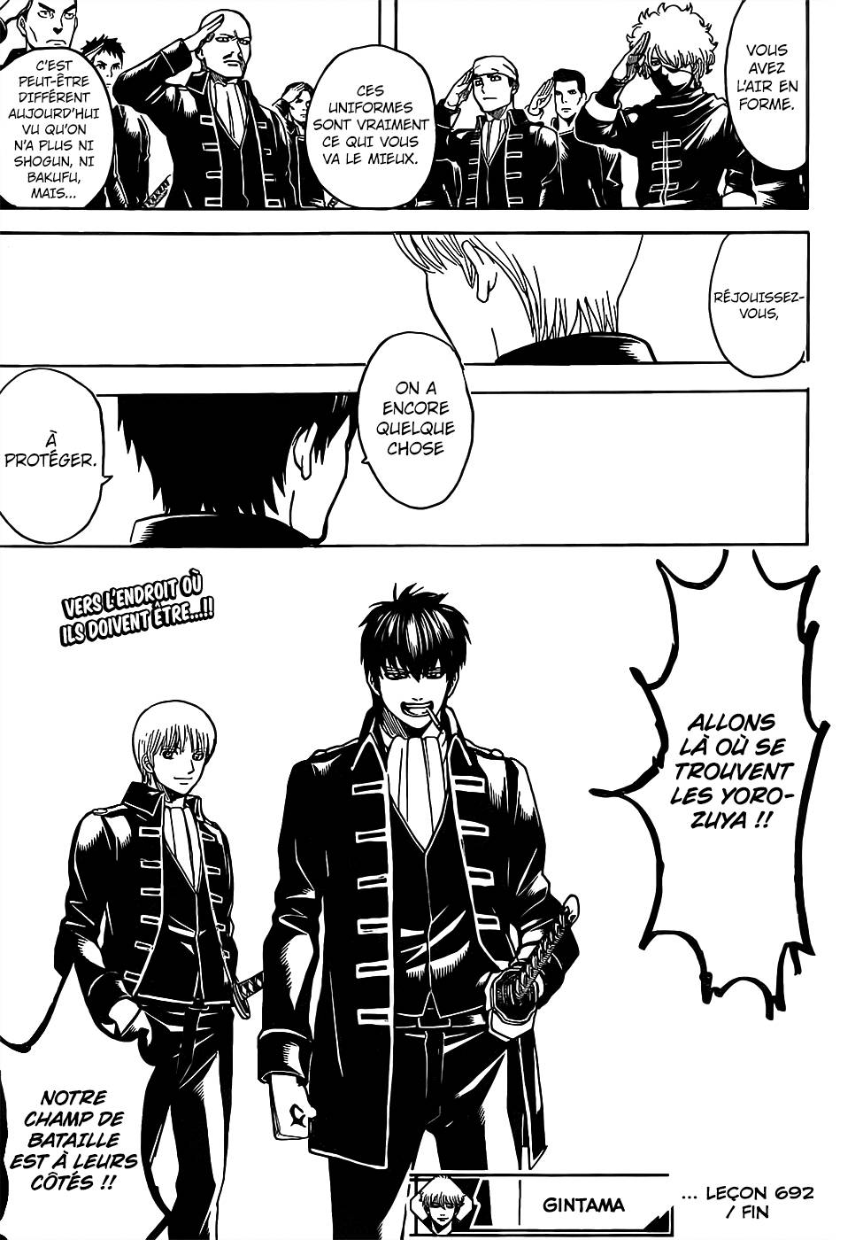 Lecture en ligne Gintama 692 page 22